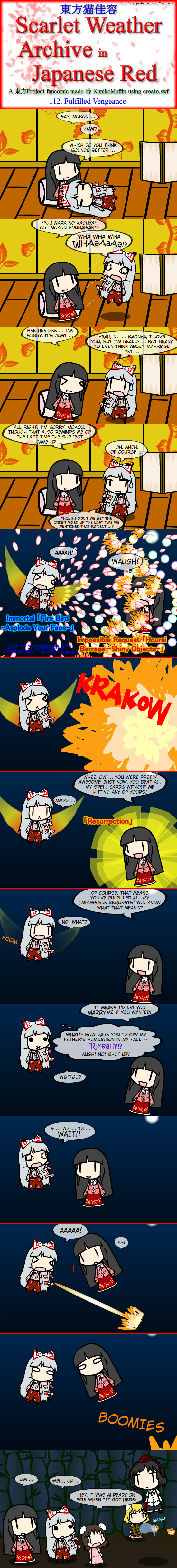 Touhou Nekokayou: Scarlet Weather Archive in Japanese Red #112