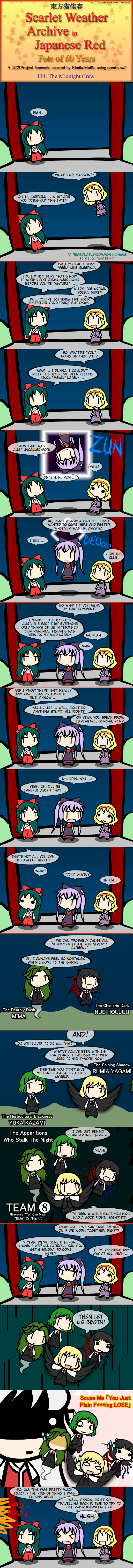 Touhou Nekokayou: Scarlet Weather Archive in Japanese Red #114