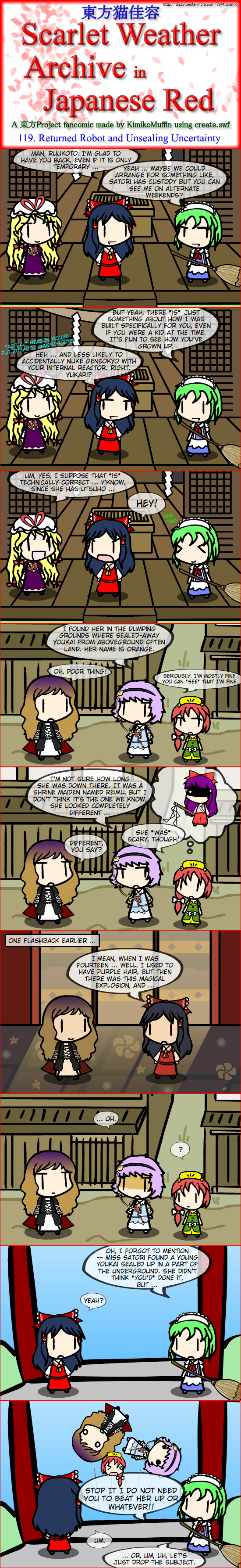 Touhou Nekokayou: Scarlet Weather Archive in Japanese Red #119