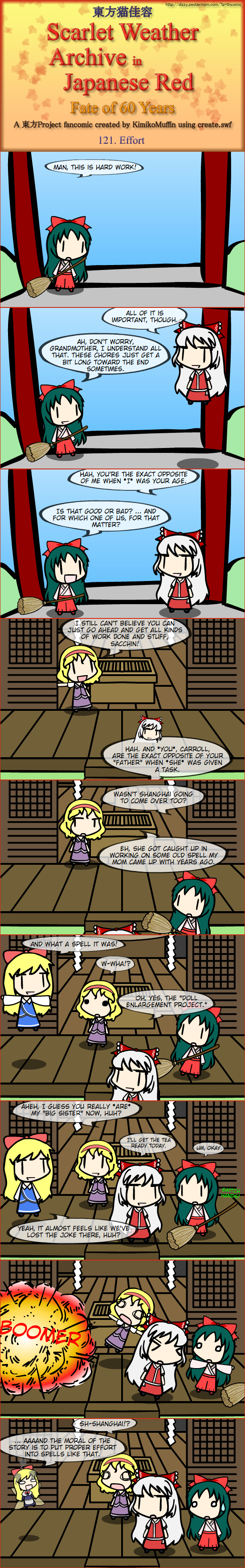 Touhou Nekokayou: Scarlet Weather Archive in Japanese Red #121