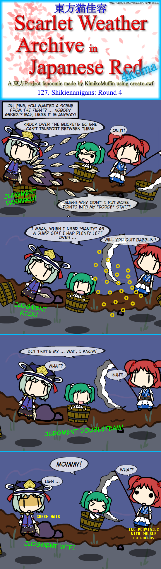 Touhou Nekokayou: Scarlet Weather Archive in Japanese Red #127