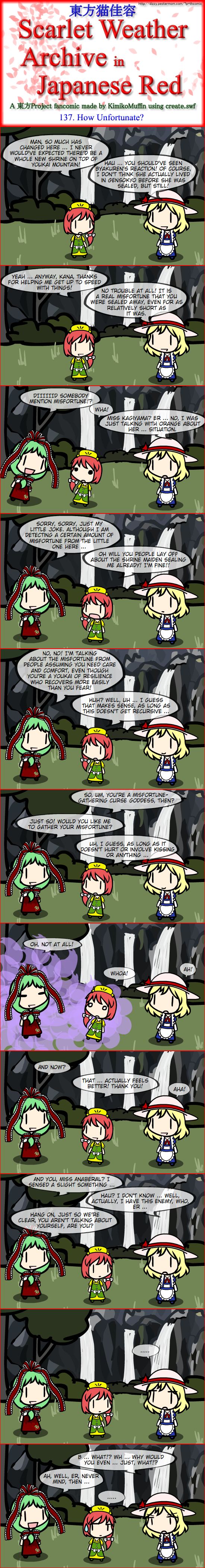Touhou Nekokayou: Scarlet Weather Archive in Japanese Red #137
