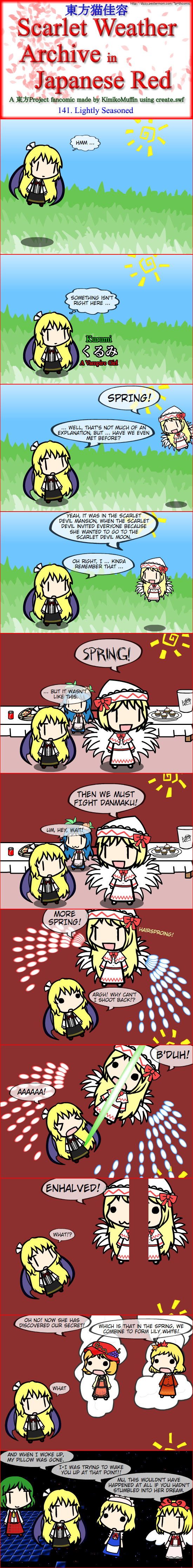 Touhou Nekokayou: Scarlet Weather Archive in Japanese Red #141