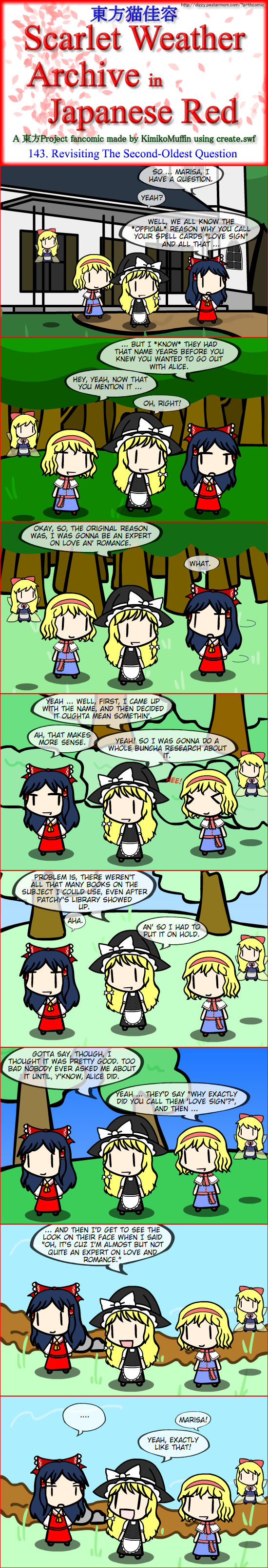Touhou Nekokayou: Scarlet Weather Archive in Japanese Red #143