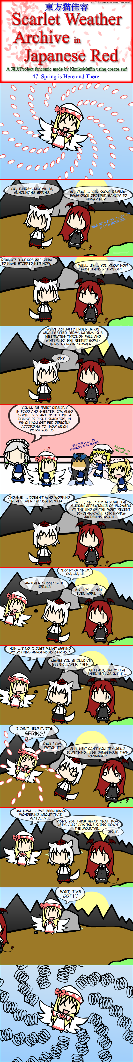Touhou Nekokayou: Scarlet Weather Archive in Japanese Red #47