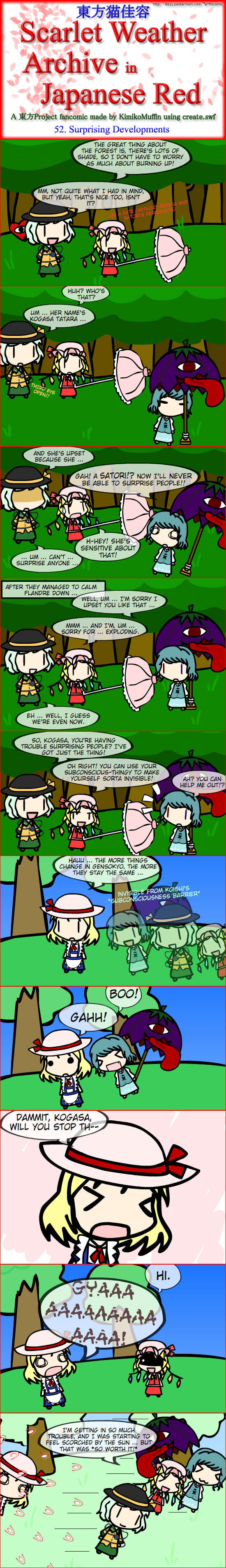Touhou Nekokayou: Scarlet Weather Archive in Japanese Red #52
